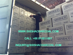 Export Import Coconut Shisha Charcoal